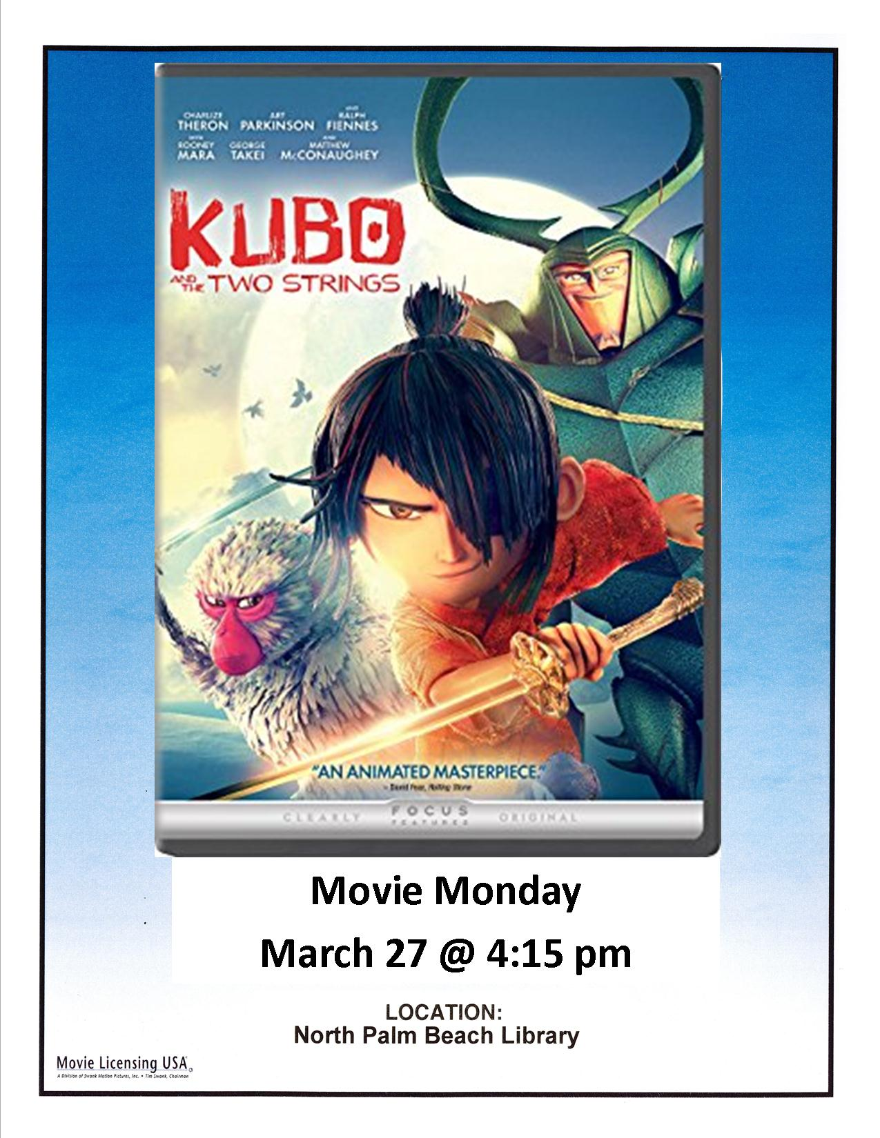 KUBO and the TWO STRINGS  Movie Poster Master