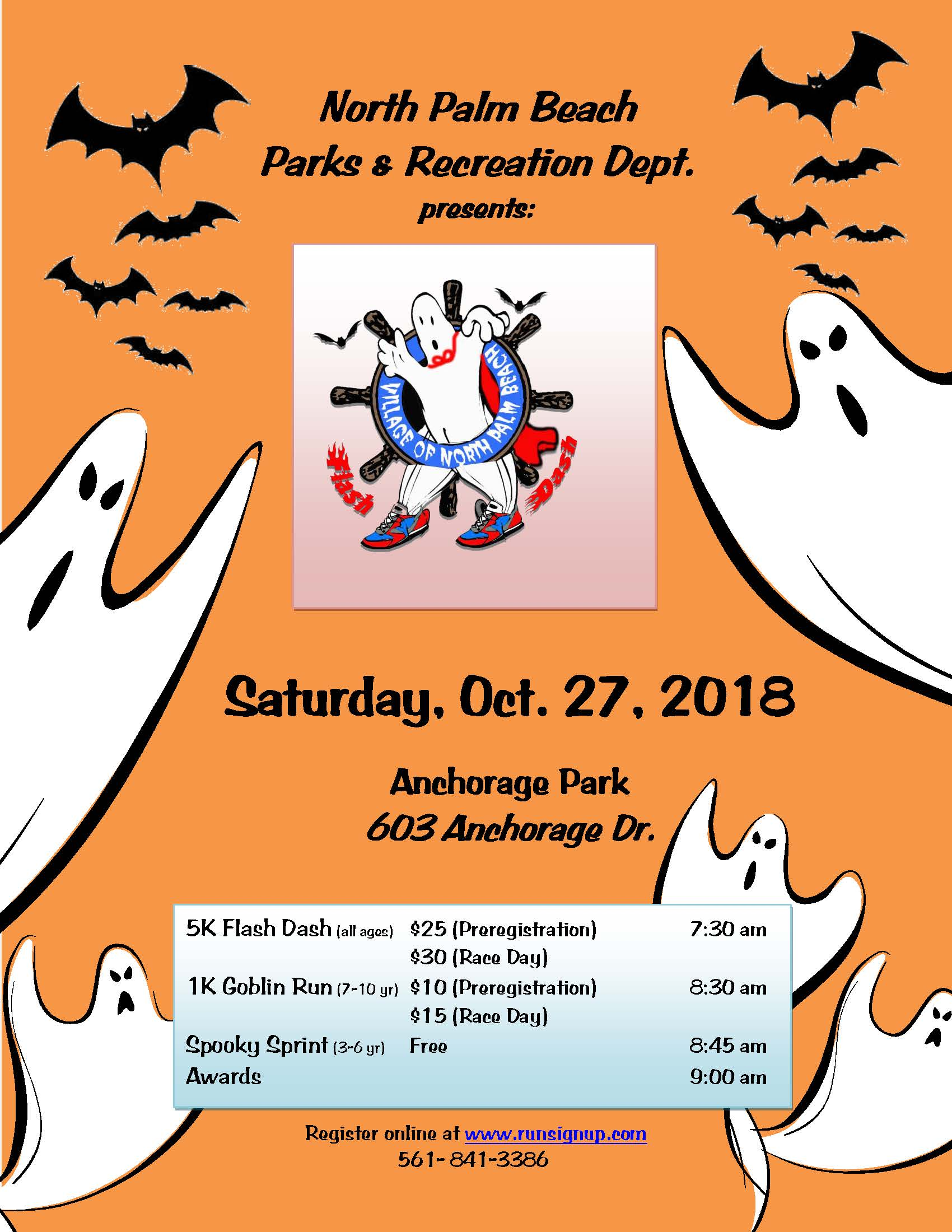 Ghost Run Flyer