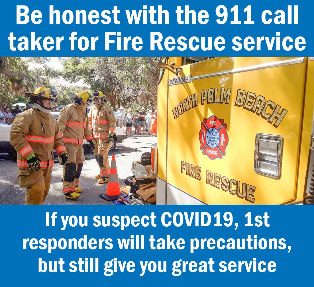 Be honest with 911 call taker. Same great service, safer for paramedics