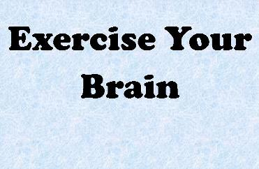 COVID Exercise your brain