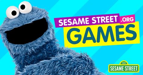 Sesame Street Games Opens in new window