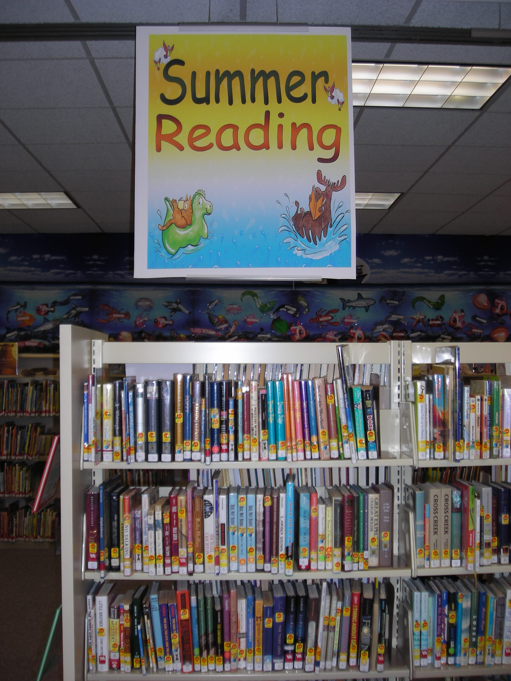 The Summer Reading section