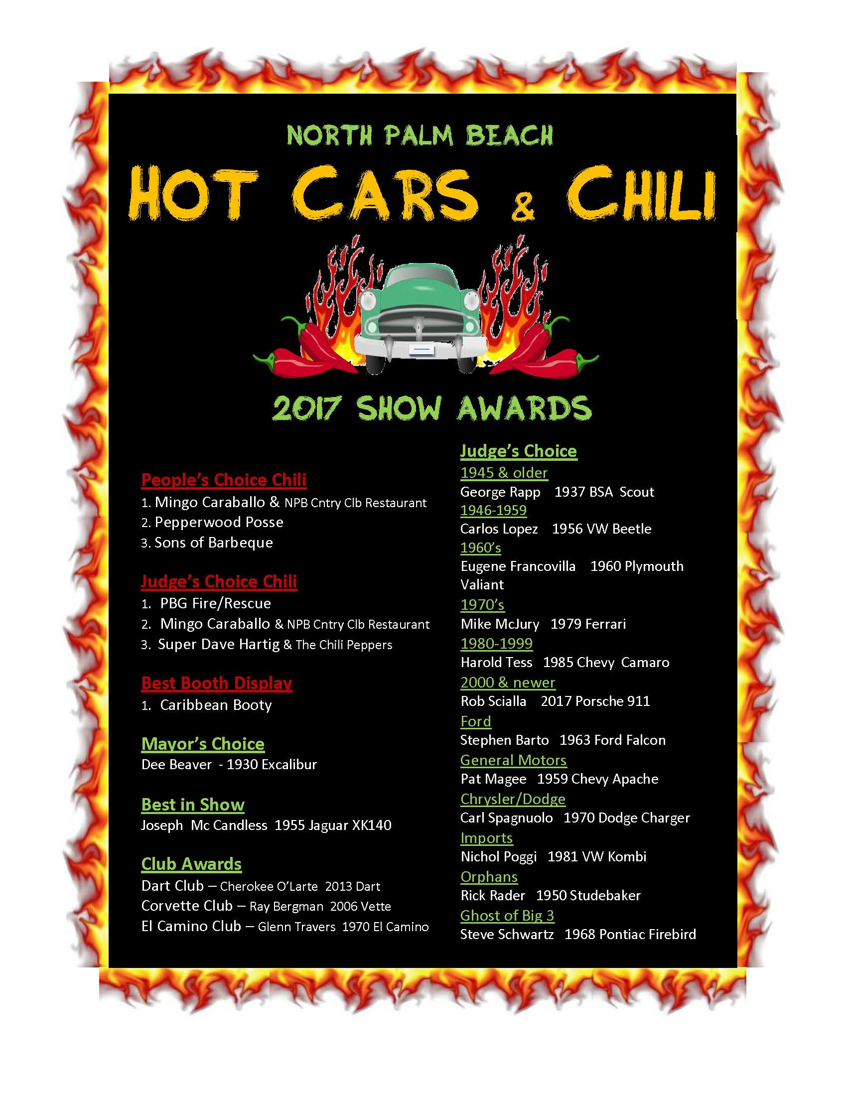 NPB Hot Cars  Chili
