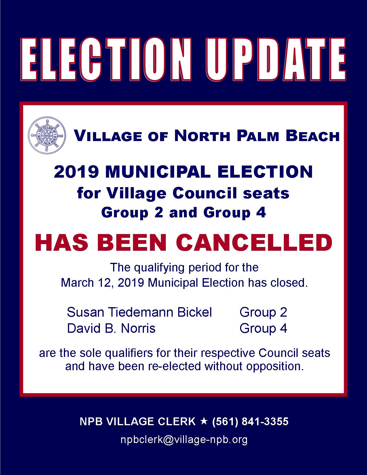 2019-03-12 VNPB Election Cancelled Notice