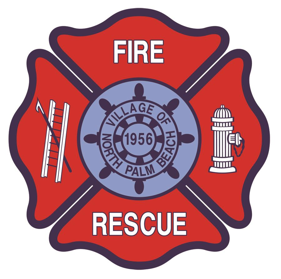 North Palm Beach Fire Department Patch