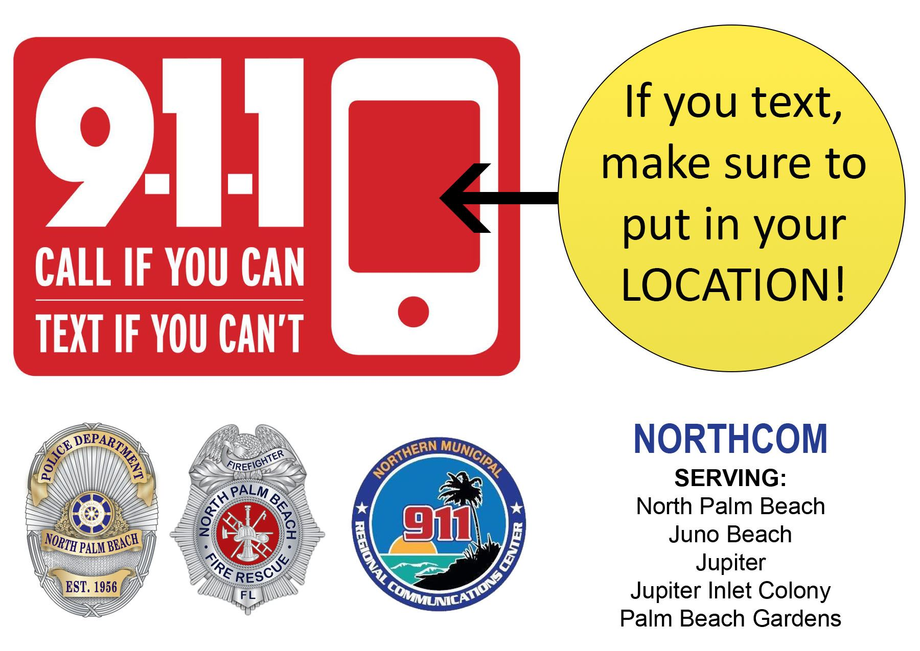Text to 911 graphic 2