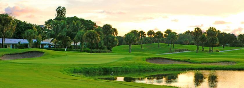 North Palm Beach Country Club Hole 17